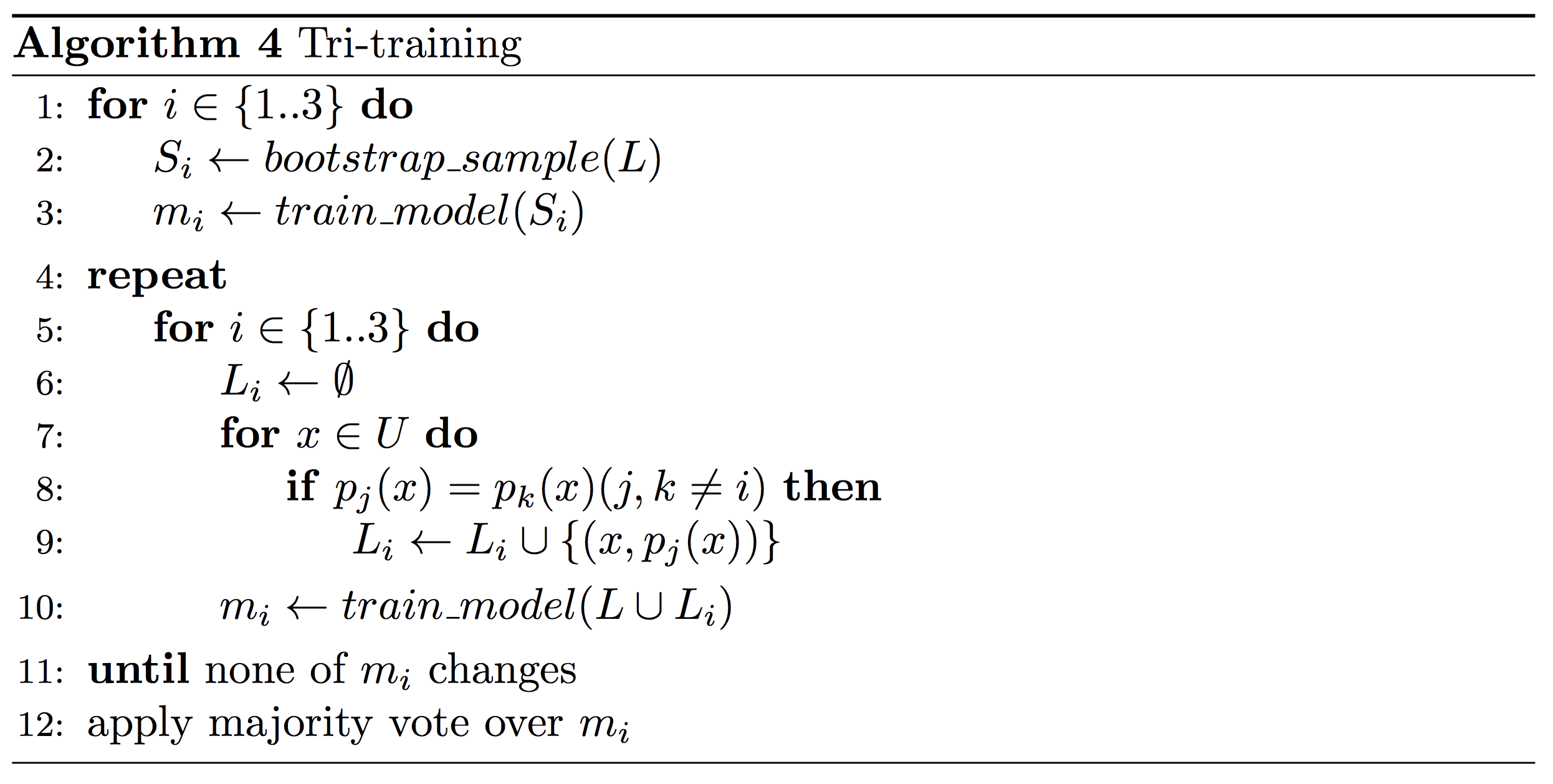 An overview of proxy-label approaches for semi-supervised learning